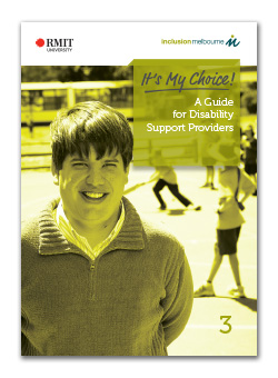 It's My Choice! - A guide for disability support providers